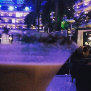 Baileys with the view of Sahara Star
