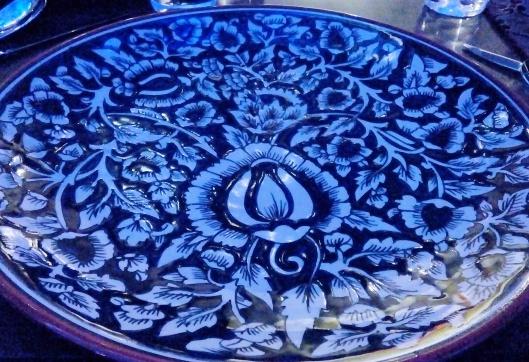 Intricate Mediterranean Design on the plates