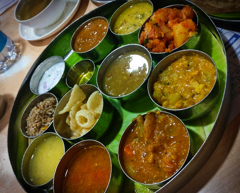 Our Lunch @Sarvana Bhavan ,Chennai